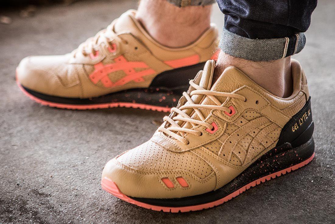 Sneaker Freaker Asics Gel Lyte Iii On Foot