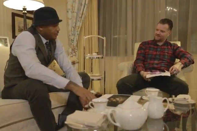 Dave White X Carmelo Anthony Tea For Two Chatting 1