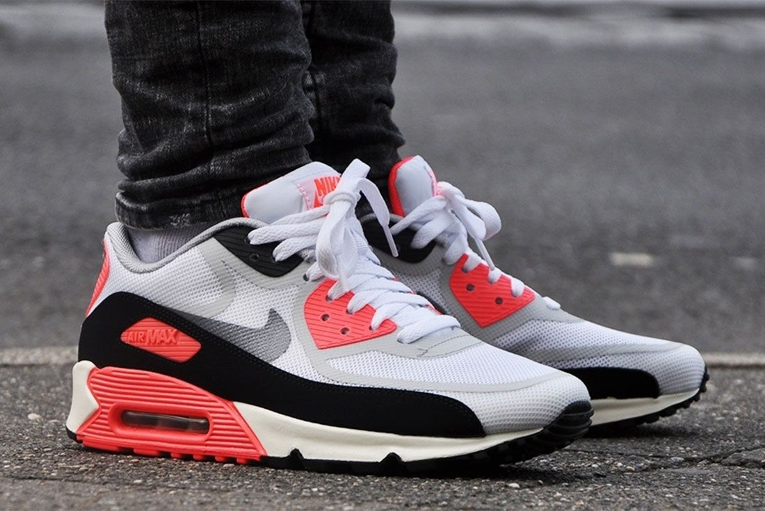 Nike Air Max 90 Infrared Tape Lateral Side Shot