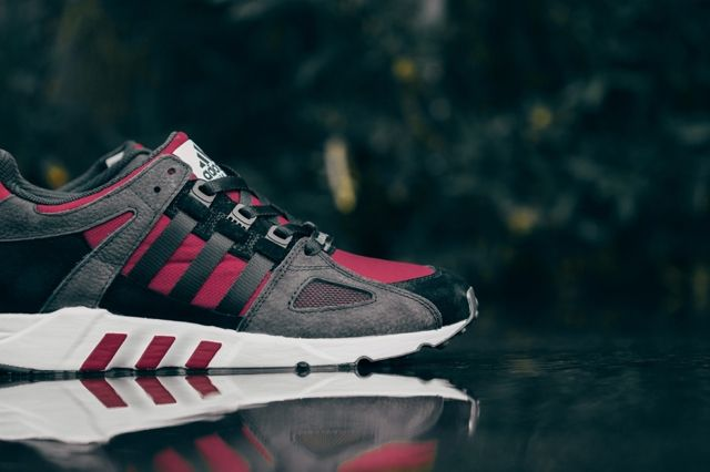 Adidas Eqt Running Guidance Support 93 Core Black Rust Red 1