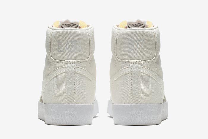 Nike Blazer Mid Canvas Pack Sail Heels