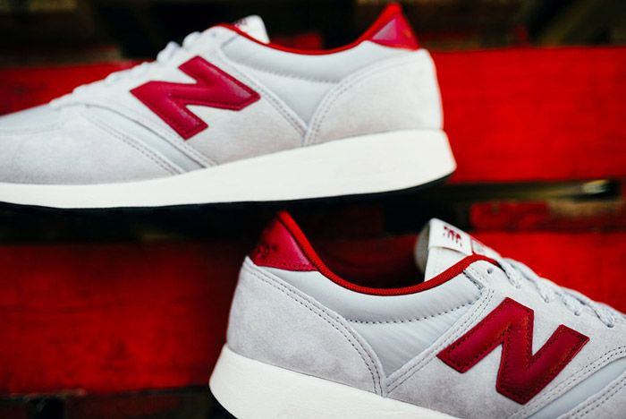 New Balance 420 Revlite Grey Red 2