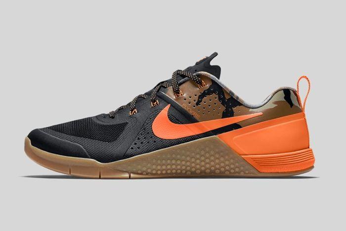 Nike Metcon 1 Black Total Orange Baroque Brown 5