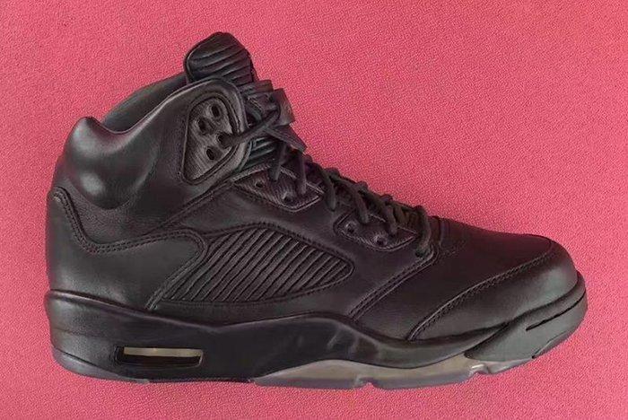 Air Jordan 5 Premium Triple Black