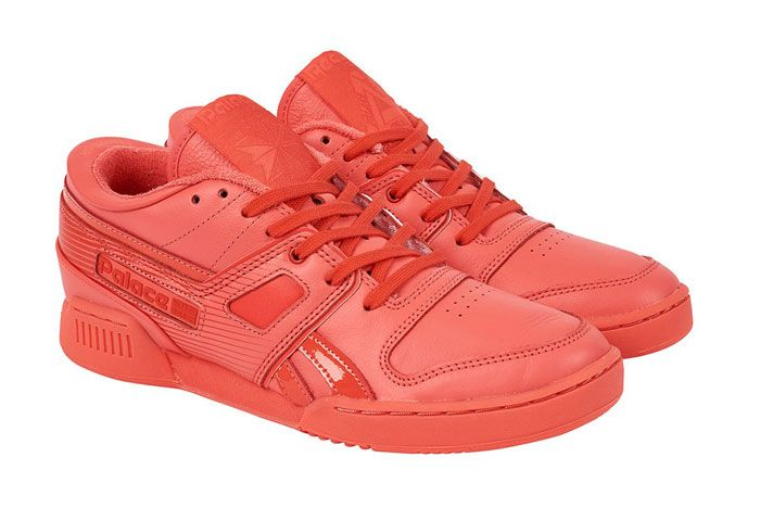 Palace Pro Workout Low Red Front Full