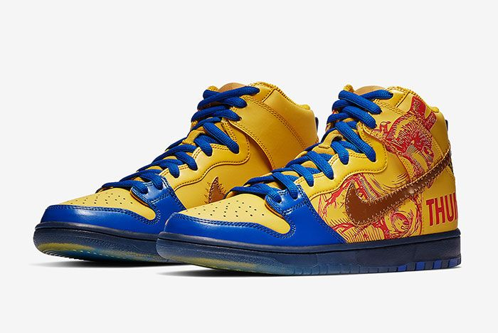 Nike Sb Dunk High Doernbecher Release Date Quarter