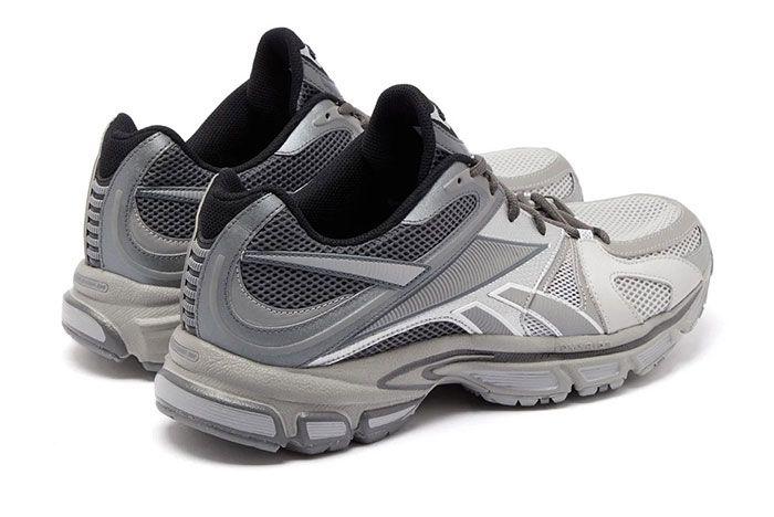 Vetements Reebok Spike Runner 200 Grey Heel