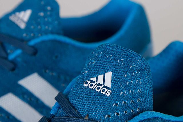 Adidas Primeknit Pureboost Solar Blue 4