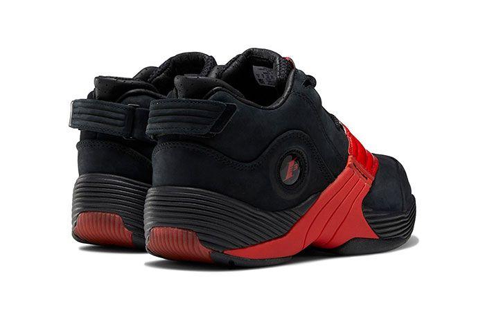 Reebok Answer 5 Black Red Heel