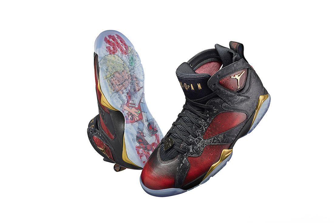 Doernbecher Freestyle Air Jordan 7 1