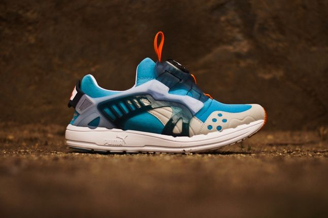 Puma Disc Blaze Ltwt Blue Orange Profile 1