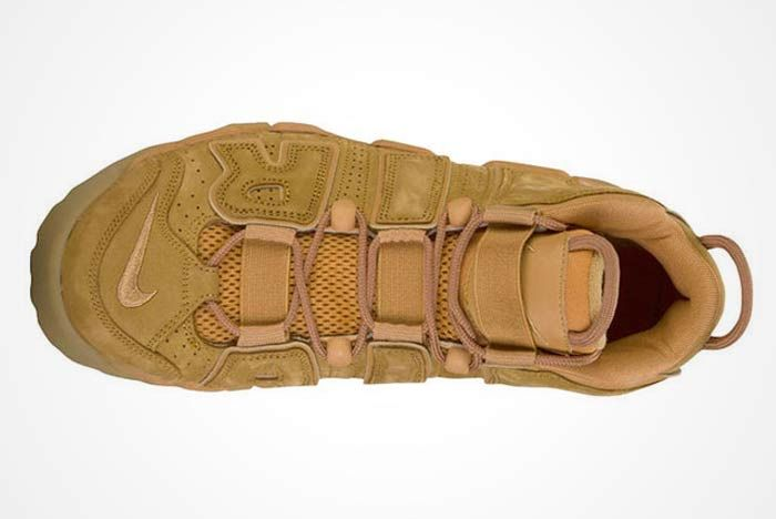 Nike Air More Uptempo Wheat 4