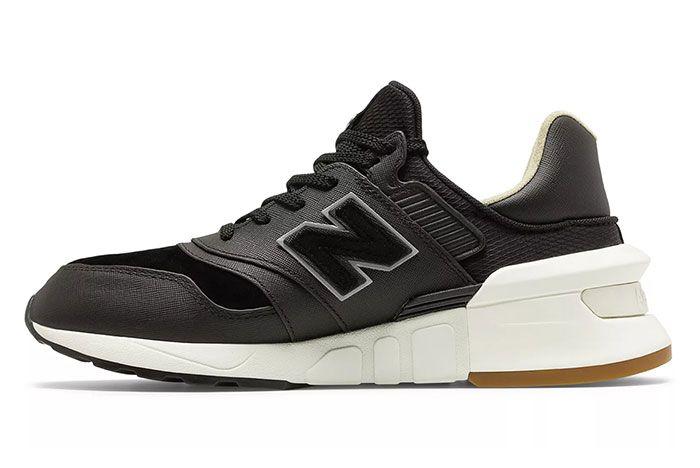 New Balance 997S Saffiano Black Medial
