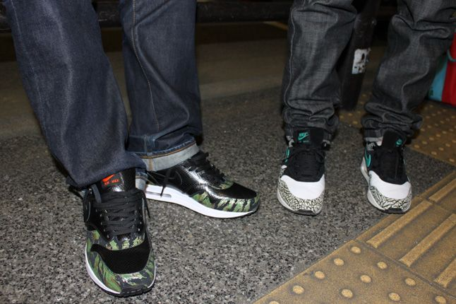 Atmos Nike Air Max Animal Camo Launch Elephant 1