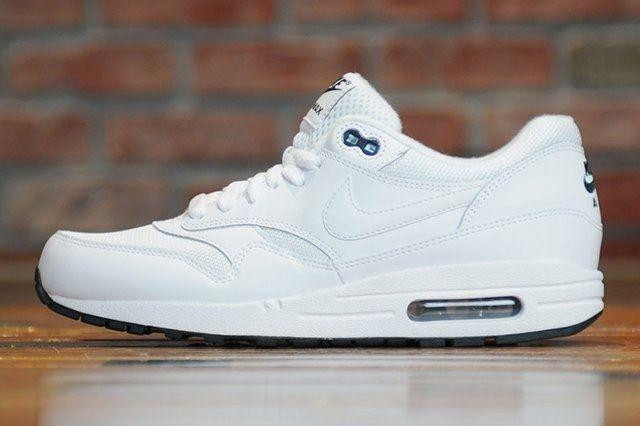 Nike Air Max 1 White Black 2