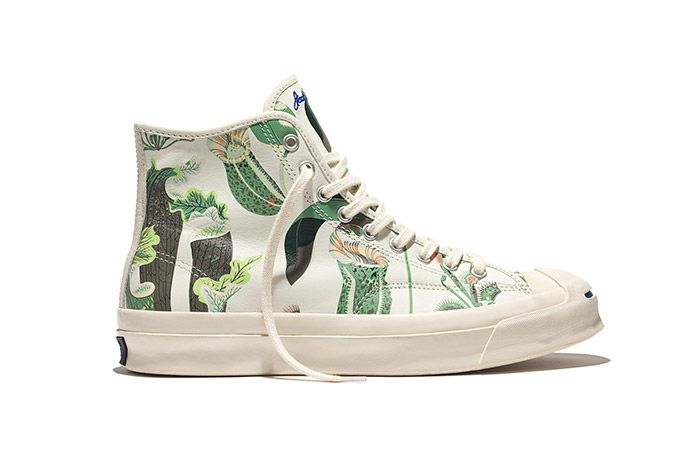 Converse Jack Purcell Signature High Carnivorous Print White 2