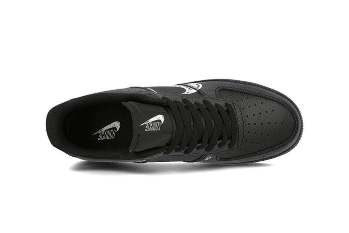 Nike Air Force 1 Sketch Black Top