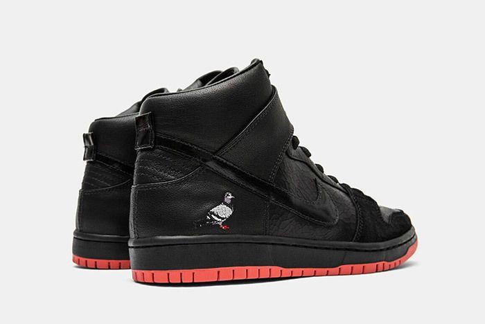 2 1 Nike Jeff Staple Sb Dunks High Black Pigeon Relevant Customs