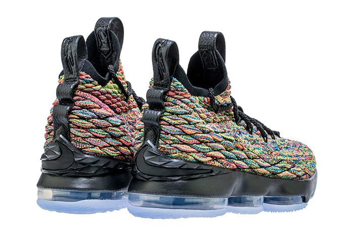 Lebron 15 Nike Fruity Pebbles Black 4