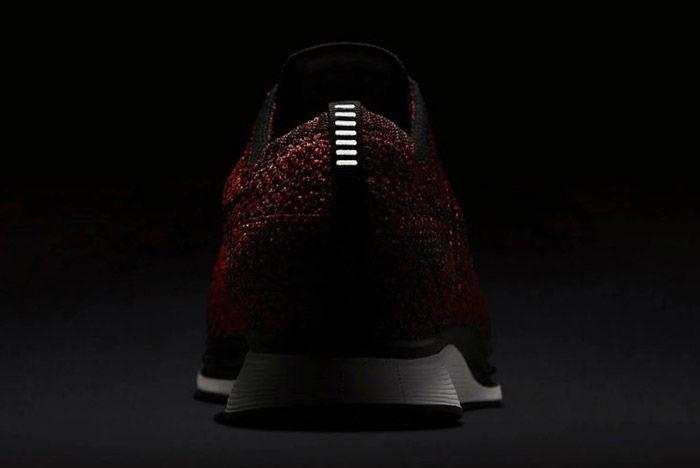 Nike Flyknit Racer Burgundy 1