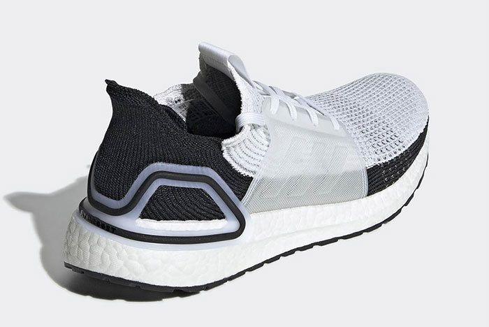 Adidas Ultra Boost 2019 Black White B37707 4