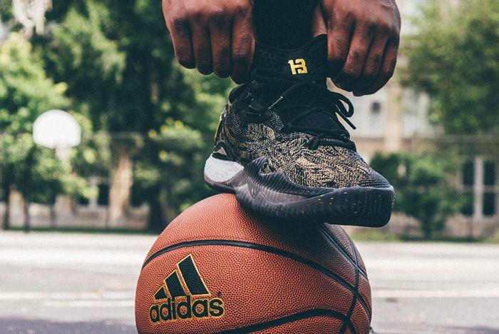 Adidas James Harden Crazylight 2016 Pe Gold Standard 2