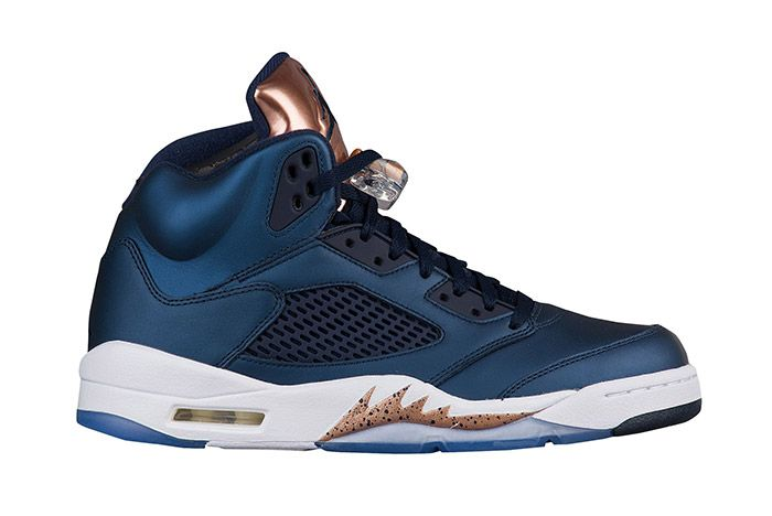 Air Jordan 5 Metallic Blue Bronze 2