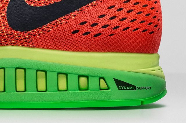 Nike Zoom Structure 19 Bright Crimson Volt 4