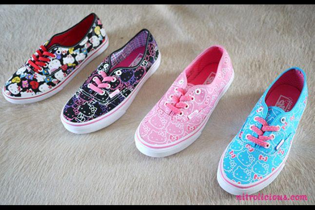 Hello Kitty Vans Summer 2012 06 1