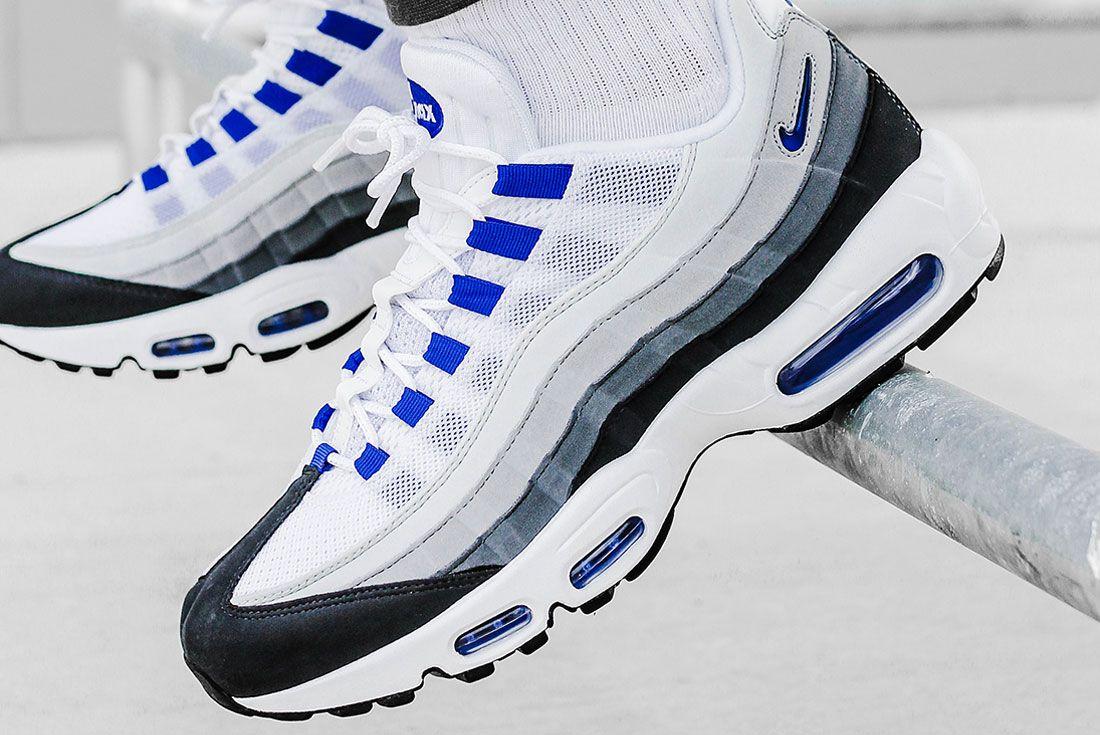 Nike Air Max 95 Grey Blue Left 2