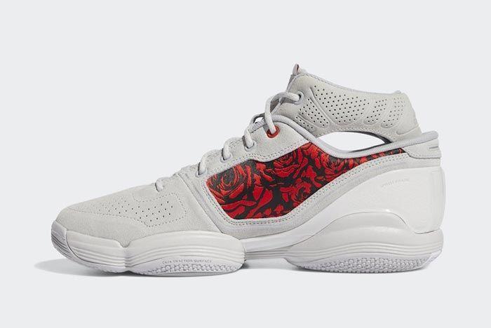 Adidas Adizero Rose 1 Roses Medial