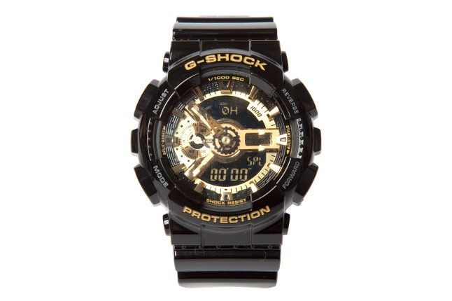G Shock Blk Gold 1