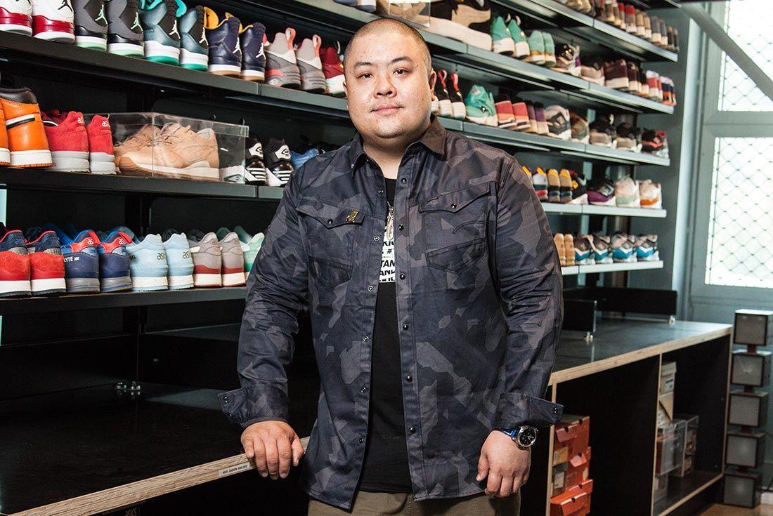 Bespoke Damien Sneakers