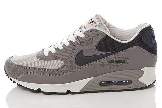 Nike Grey Naxy Air Max 90 1