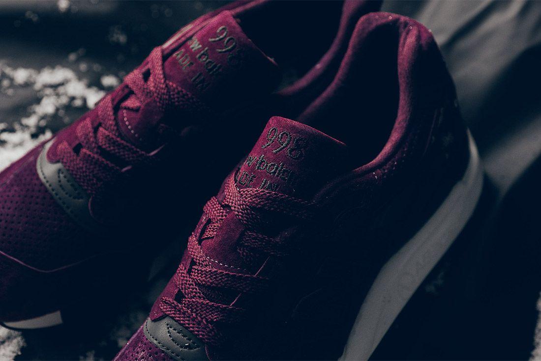 New Balance M998 Cm 998 Burgundy Sneaker Politics Sneaker Freaker 3