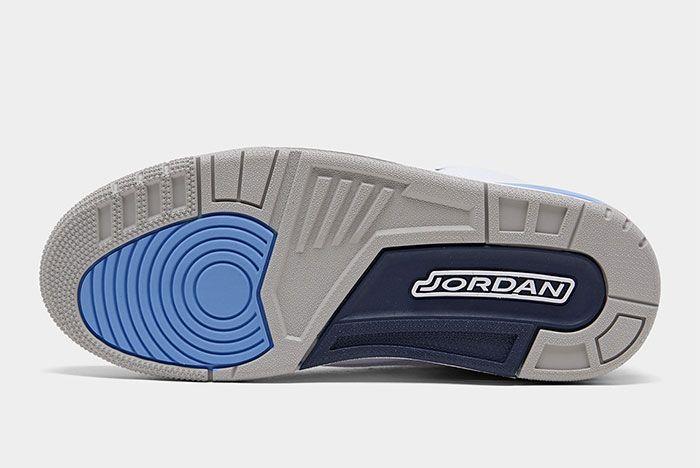 Air Jordan 3 Unc Sole