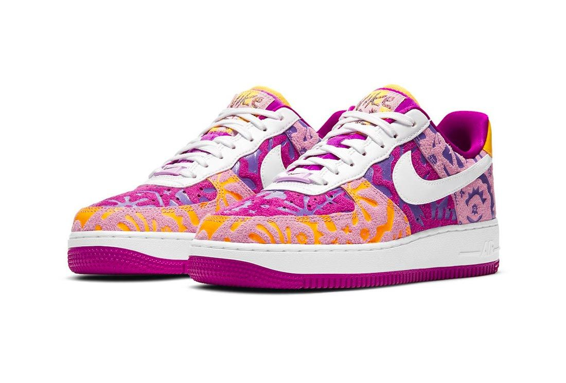 Nike Air Force 1 'Red Plum'