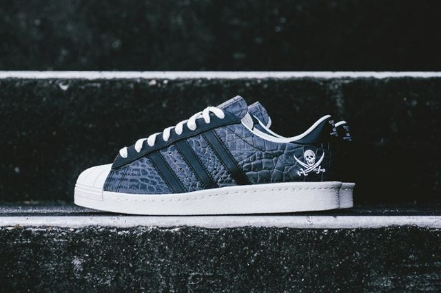 Neighborhood Nbhd X Adidas Adi Superstar 80 Snake Skin 1
