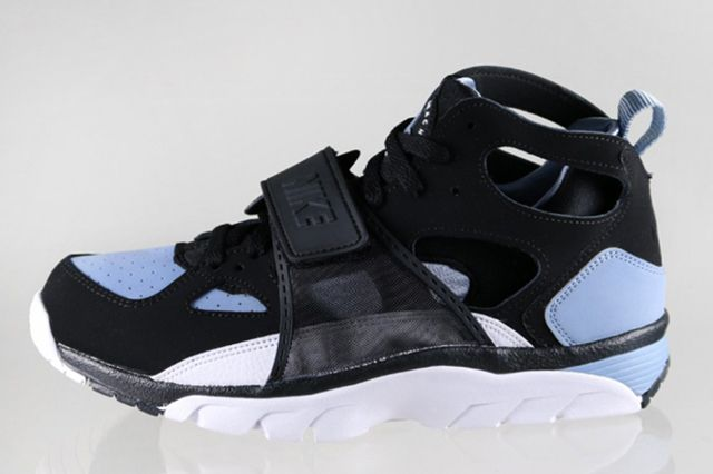 Nike Air Trainer Huarache Blackcool Blue 2