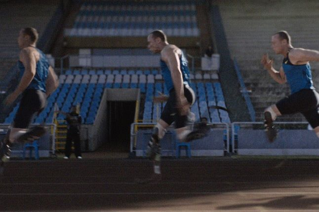 Nike Human Chain Oscar Pistorius 1