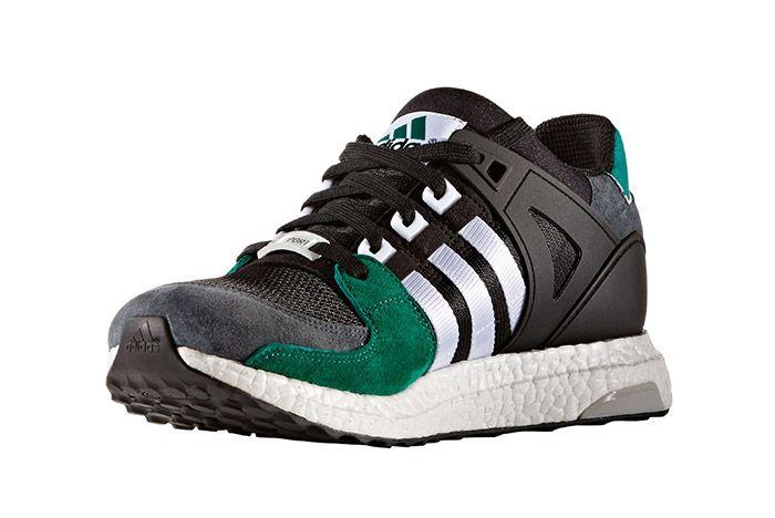 Adidas Eqt Support 93 16 Boost Green Black 4