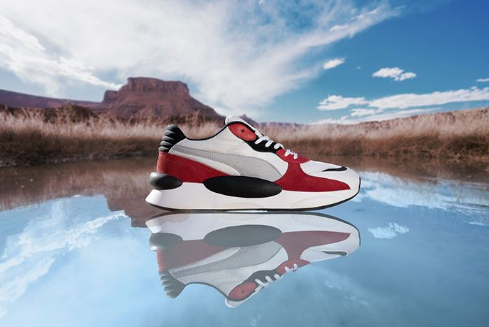 Puma Rs98 Red Lateral