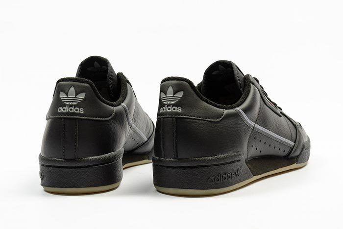 Adidas Continental 80 Black Gum Bd7797 3