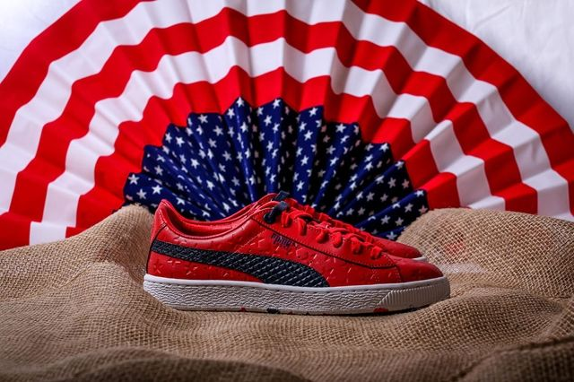 Puma Basket Independence Day Pack Red 4