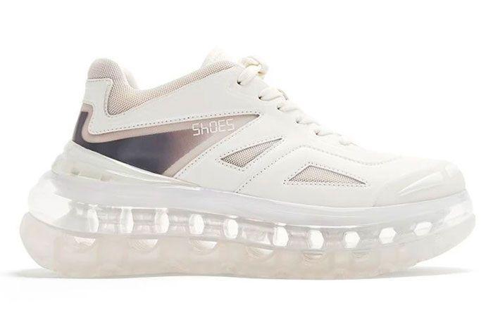 Shoe 53045 Air Bump White Right