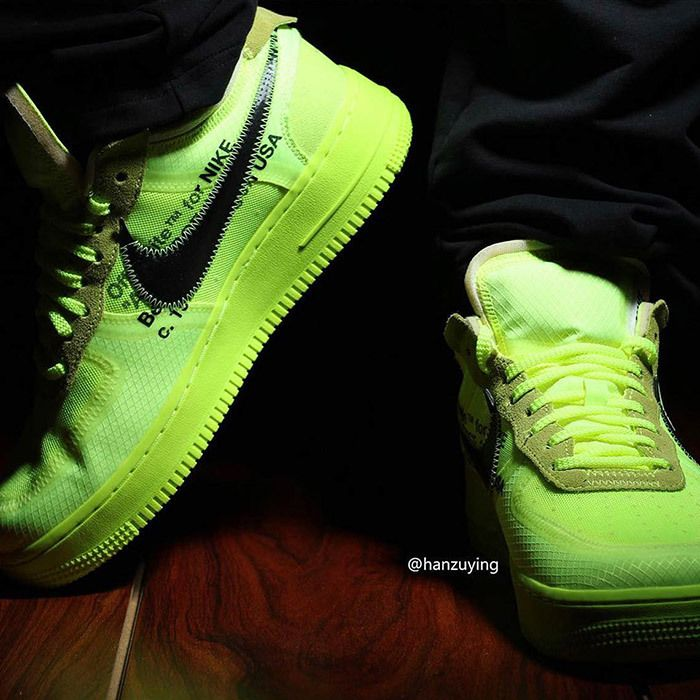 Off White Nike Air Force 1 Low Volt 4