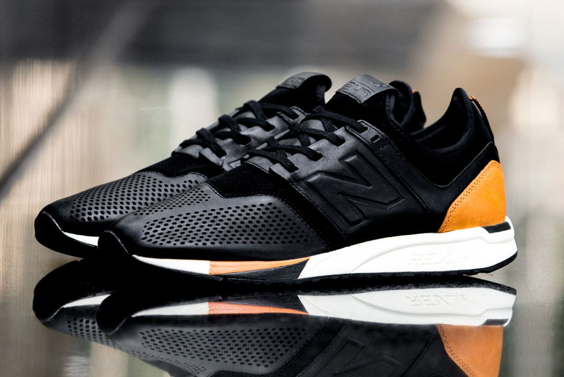 New Balance 247 Lux Black Leather 2