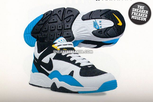 Nike Air Edge Museum Recap Air Edge Ii Cyan Blue 1