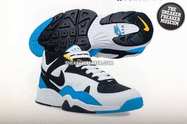 Nike Air Edge Museum Recap Air Edge Ii Cyan Blue 1