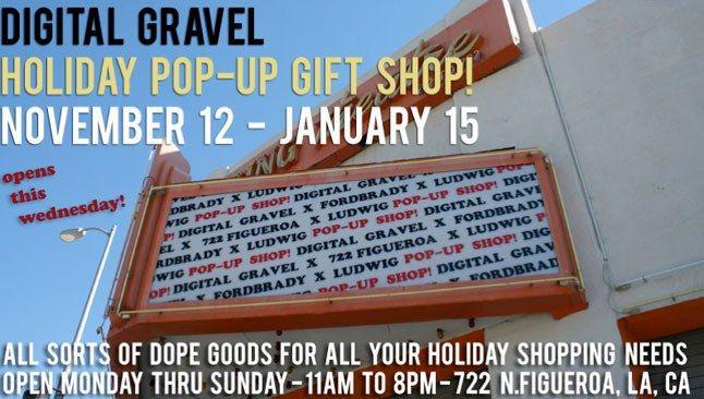 Digital Gravel Pop Up Store 1